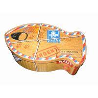 fish shape tin box