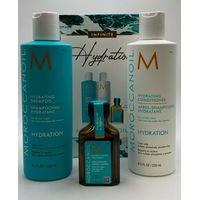 Moroccanoil Hydrating Shampoo 250ml ,Conditioner 250ml & Treatment 25ml