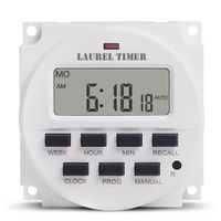 TM618 7Days Digital Time Switch