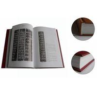 Professional Black Casebound /Hardcover Book Printing