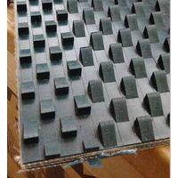 Wedge PVC conveyor belt for stone
