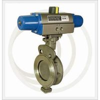 PNEUMATIC High Performance Butterfly Valve(Single, Double)