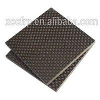 Dongguan sale 3K pure CFRP sheet carbon fiber plate 6mm 7mm 8mm 9mm 10mm