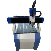 Best high speed 4 axis 6090 CNC router 3D cutting milling machine for wooden stone metal with limit  thumbnail image
