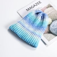 Wholesale Acrylic Custom Embroidery Winter Knitted Beanie Hat Custom Winter Hat thumbnail image