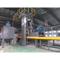 Dingtai roller conveyor through type aluminium plate shot blasting machine thumbnail image