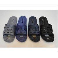 PVC material shoes bathroom slipper thumbnail image