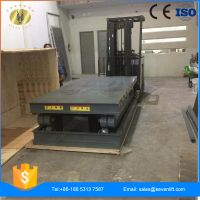 7LSJG Shandong SevenLift residential scissor cargo lift platform for warehouse