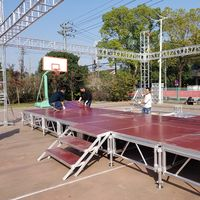 Cheap aluminum portable indoor outdoor concert stage for sale thumbnail image