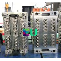 24 Cavities Plastic Injection Small Gate itself-locking Preform Mould