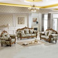 Living Room Furniture with Fabric Sofa Set (929V)