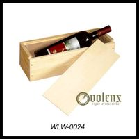 simple and elegant wooden wine box
