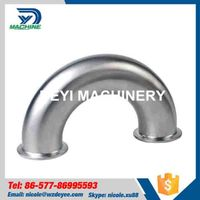 Stainless Steel 180 Degree Bend Elbow Clamped thumbnail image