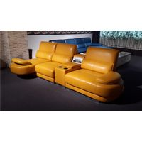 New design modern living room furniture leather sofa set LZ011