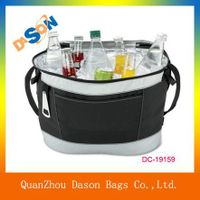 Polyester insulated drink cooler bag