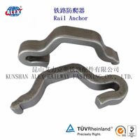 Customized Rail Anchor Manufacturer, Sand Casting Rail anticreeper, Welded-on Rail Anchor thumbnail image