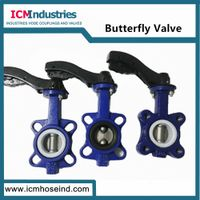 Lr &Dnv Factroy Ductile Iron Butterfly Valve