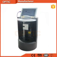 Fully enclosed fiber laser marking machine new looking for distributor with protective cover