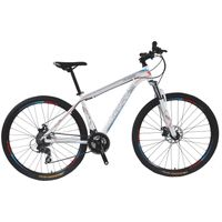 Okay365 alloy frame mountain bike with suspension fork