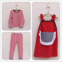 child clothes girl three pieces clothing set red girl dress mix order wholesale