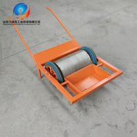 portable Steel shot recycling trolley