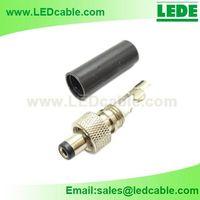 DC Plug with Screw Locking