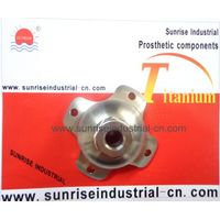 Titanium 4 Ear Connector with Pyramid, Prosthetic (SR-S-270)