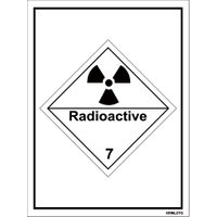 Self Adhesive Labels - Radioactive (Set of 10 pcs)
