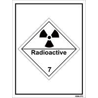 Self Adhesive Labels - Radioactive (Set of 10 pcs)