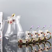glass mug spoon crystal glass jug luxury mug coffee mug