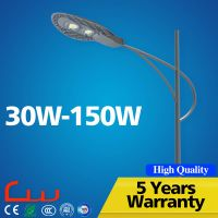 5 Years warranty cool white 30 watt -150 watt IP65 LED street light price for highway,road,square