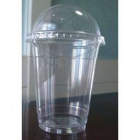 PET CUP,Plastic cup with dome lid