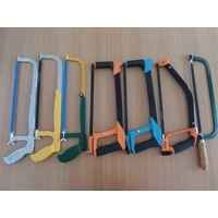 adjust hacksaw frame with plastic/chrome handle