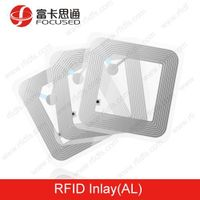 13.56 Mhz rfid dry inlay with AL