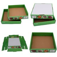 Durable biodegradable carton fruit box factory direct supply