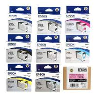 Epson Complete Ink Cartridge Set for Stylus Photo 3880 Printer