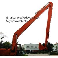 Hitachi ZX210 ZX240 long reach boom assy with lower price