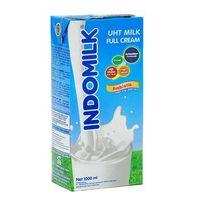 Indomilk Uht Plain 1 Lt