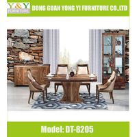 1600/1800mm Dining Room Table, 3D technology Dining Room Furniture, Dining Chair(DT8205)