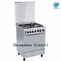 Gas power source Free standing oven with S/S body