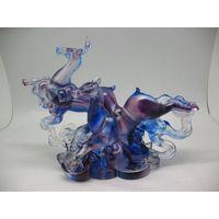 colored glaze
