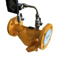 GB/DIN/AMSE/JIS WCB Flanged Ends Y Strainer with Differential Pressure Gauge for Gas thumbnail image