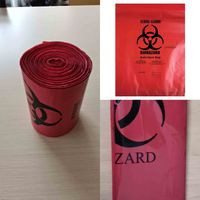 Autoclavable Biohazard Waste Bags for hospital use PP,PE