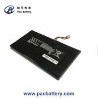 Flat li-polymer battery 7.4 Volt 3500mAh with smart BMS for laptop