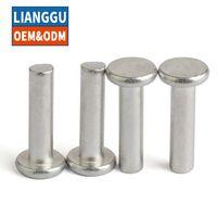 Competitive price precision solid hollow metal titanium stainless steel aluminum rivet thumbnail image