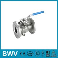 150LB 2PC Flanged Ball Valve with ISO5211 Direct Mounting Pad