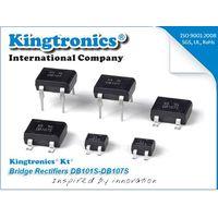 Kingtronics Best Seller Glass Passivated Bridge Rectifiers DB101S-DB107S