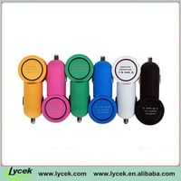 Compact design, nice finish dual USB Car Charger for iPhone