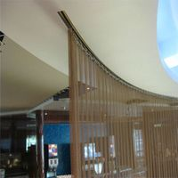 Room Metal Mesh Curtains Dividers