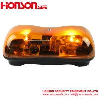 LED Rotating halogen warning Mini Lightbar HSM-200